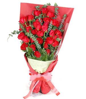 Diyarbakır anneler günü çiçek yolla  37 adet kırmızı güllerden buket
