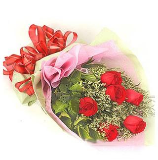 Diyarbakır çiçek servisi , çiçekçi adresleri  6 adet kırmızı gülden buket
