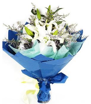 Diyarbakır ucuz çiçek gönder  4 adet dal kazablankadan görsel buket