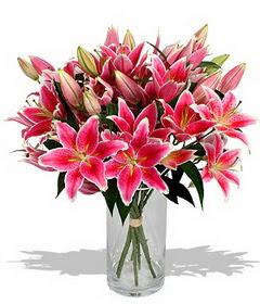 4 dal cazablanca görsel vazosu  Diyarbakır güvenli kaliteli hızlı çiçek
