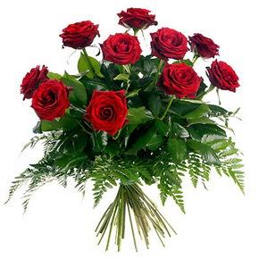 Diyarbakır anneler günü çiçek yolla  10 adet kırmızı gülden buket