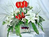 Diyarbakır internetten çiçek satışı  Anthurim Kazablanka  gül