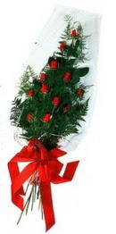 Diyarbakır 14 şubat sevgililer günü çiçek  11 adet kirmizi gül saten kurdelali