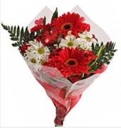 Mevsim çiçeklerinden görsel buket  Diyarbakır çiçek yolla , çiçek gönder , çiçekçi