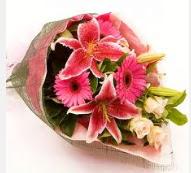 1 dal kazablanka ve mevsim çiçekleri  Diyarbakır İnternetten çiçek siparişi