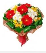 1 demet karışık buket  Diyarbakır hediye çiçek yolla
