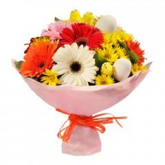 Karışık mevsim buketi Mevsimsel çiçek  Diyarbakır İnternetten çiçek siparişi