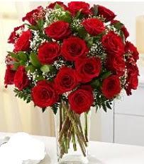 Vazo içerisinde 33 adet kırmızı gül  Diyarbakır çiçek gönderme