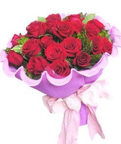 12 adet kırmızı gülden görsel buket  Diyarbakır güvenli kaliteli hızlı çiçek