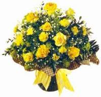 Diyarbakır çiçek servisi , çiçekçi adresleri  Sari gül karanfil ve kir çiçekleri