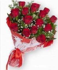 11 adet kırmızı gül buketi  Diyarbakır çiçekçi telefonları