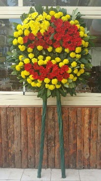 Cenaze çelengi çiçek modeli  Diyarbakır internetten çiçek satışı