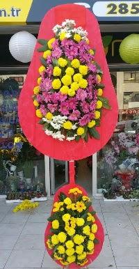 Çift katlı düğün nikah açılış çiçek modeli  Diyarbakır çiçek yolla