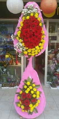 Çift katlı düğün nikah açılış çiçek modeli  Diyarbakır çiçek yolla , çiçek gönder , çiçekçi