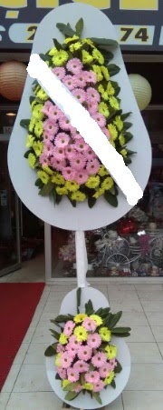 Çift katlı düğün nikah açılış çiçeği  Diyarbakır ucuz çiçek gönder