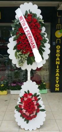 Çift katlı düğün nikah çiçeği modeli  Diyarbakır yurtiçi ve yurtdışı çiçek siparişi
