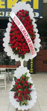Çift katlı düğün nikah çiçeği modeli  Diyarbakır kaliteli taze ve ucuz çiçekler