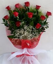 11 adet kırmızı gülden görsel çiçek  Diyarbakır çiçek online çiçek siparişi