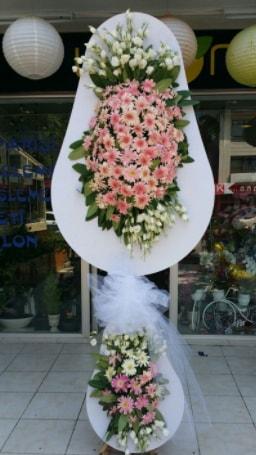 Çift katlı özel şahane sepet çiçeği  Diyarbakır hediye sevgilime hediye çiçek