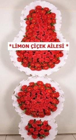 3 katlı kırmızı düğün açılış çiçeği  Diyarbakır anneler günü çiçek yolla