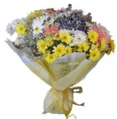 Karışık mevsim çiçeği  Diyarbakır çiçek online çiçek siparişi