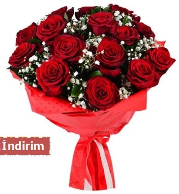 12 Adet kırmızı aşk gülleri  Diyarbakır çiçek online çiçek siparişi