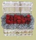 Diyarbakır çiçekçi telefonları  Sandikta 11 adet güller - sevdiklerinize en ideal seçim